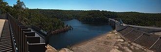 Warragamba Dam - Image: Warragamba Dam NSW