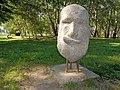 Warszawa-Open air sculpture in Przy Bażantarni Park (2).jpg