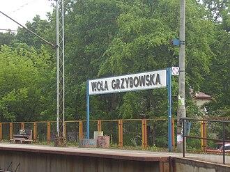Warszawa Wola Grzybowska railway station - Image: Warszawa Wola Grzybowska train station (2)