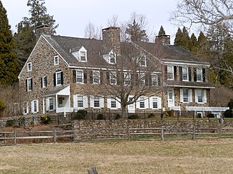 East Nantmeal Township, Chester County, Pennsylvania - Warwick Farmhouse, part of a historic district in the township of Warwick, neighboring East Nantmeal