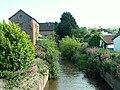 Washford River, upstream from Mill Street road bridge - geograph.org.uk - 2372648.jpg