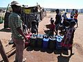 Water collection informal settlement Freedom Square in Gobabis Namibia1.jpg