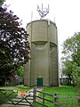 Water tower near Covington Lodge - geograph.org.uk - 1420695.jpg