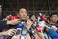 Wellington Koo, Huang Kuo-chang, Lin Fei-fan and Dennis Wei 20140421.jpg