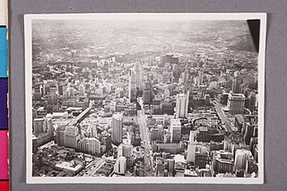 Vista aérea do Centro. São Paulo/Sp