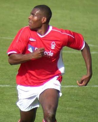 Wes Morgan - Morgan playing for Nottingham Forest in 2002