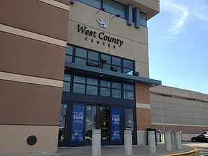 West County Center - West County Center entrance in 2012