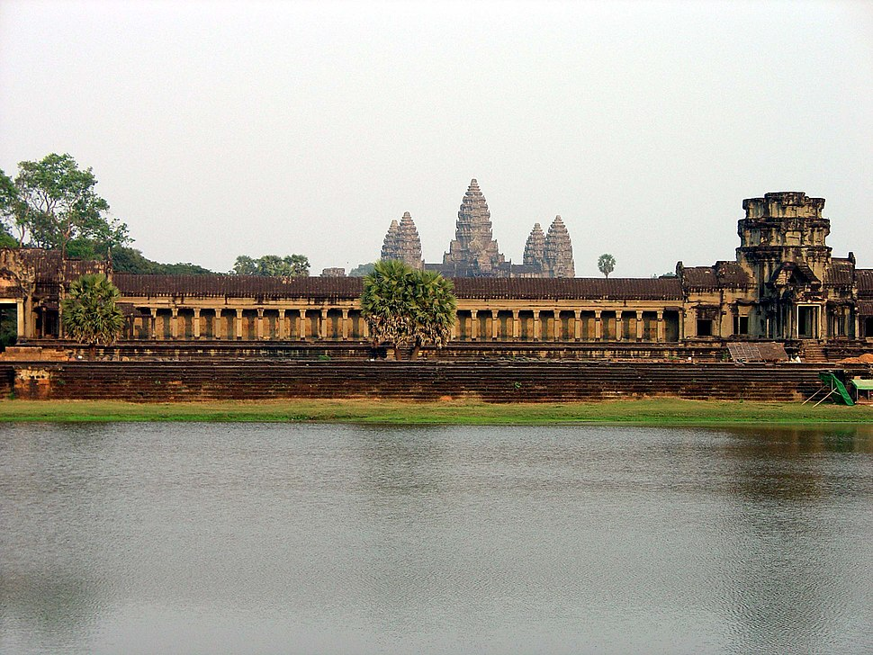 West wall of the outer enclosure Angkor Wat0636