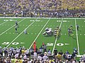Western Michigan vs. Michigan 2011 09 (Western kicking).jpg