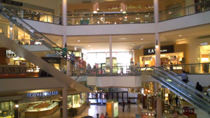 Westfield North County - A view of the three-level center court of Westfield North County.