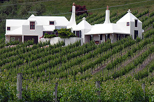 Ian Athfield - Image: White House Te Mata