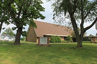 Whiteford Township, Michigan - Image: Whiteford township st. michael lutheran church
