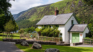 English: The information office of the Wicklow...