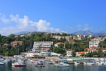 Herceg Novi--Widok na miasto z portu w Herceg Novi 01