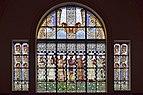 Wien - Otto-Wagner-Kirche am Steinhof - Fenster Die leiblichen Tugenden.jpg