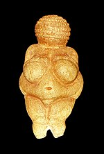 The Venus of Willendorf is one of the most famous Venus figurines.