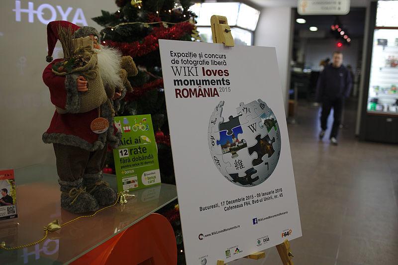 File:Wiki Loves Monuments 2015 exhibition in Bucharest 20.jpg
