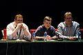 Wikimania 2009 - Arne Klempert, Michael Snow & Domas Mituzas.jpg