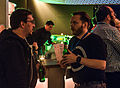 Wikimedia Conference 2015 - May 16 - Party at HomeBase Lounge - 29.jpg