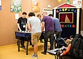 Wikimedia Hackathon Vienna 2017-05-20 tabletop football 01.jpg