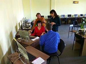 Wikitraining for librarians in Vinnytsia 23-03-2019 (20).jpg