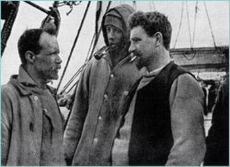Ernest Joyce - Ernest Joyce (right), pictured with other expedition members