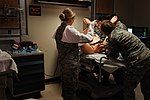 Wilford Hall trains medical Airmen with birth simulator DVIDS219651.jpg