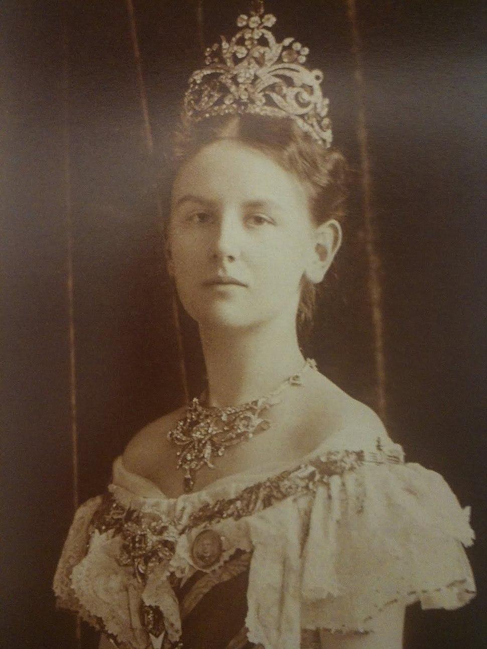 Wilhelmina as a young woman
