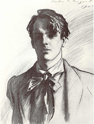 1908 in poetry - 1908 Portrait of W. B. Yeats by John Singer Sargent