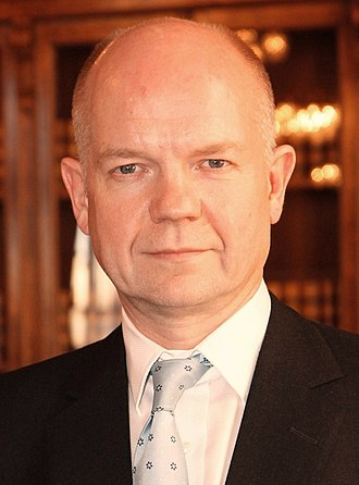 1998 United Kingdom local elections - Image: William Hague Foreign Secretary (2010)