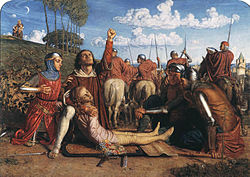 William Holman Hunt - Rienzi vowing to obtain justice.jpg