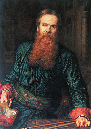 William Holman Hunt - Self-portrait, 1867, Galleria degli Uffizi, Florence
