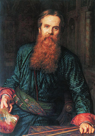 William Holman Hunt - Self-portrait, 1867, Galleria degli Uffizi, Florence
