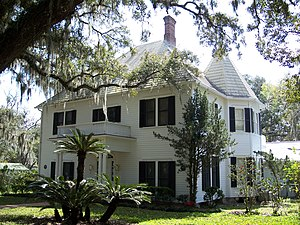 National Register of Historic Places listings in Hernando County, Florida - Image: William Sherman Jennings House Brooksville 01