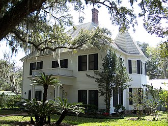 Brooksville, Florida - William Sherman Jennings House
