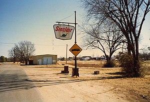 Winchester, Arkansas - Image: Winchester Ark Sinclair 1