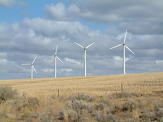 Wind power in Oregon Electricity from wind in one U.S. state