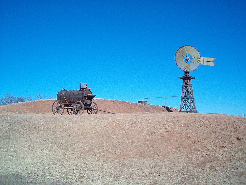 Windmill and Cart