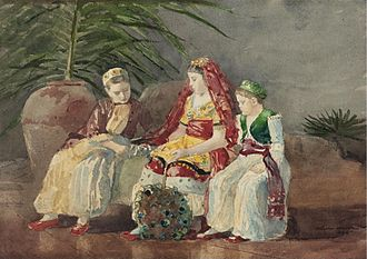 Fake or Fortune? - Image: Winslow Homer's 'Children Under a Palm Tree'