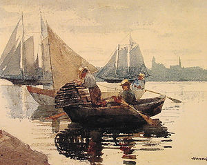 Winslow Homer - The lobster pot.jpg