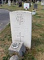 Winterton Cemetery - Gravestone of Pte. Margery Button - geograph.org.uk - 201969.jpg