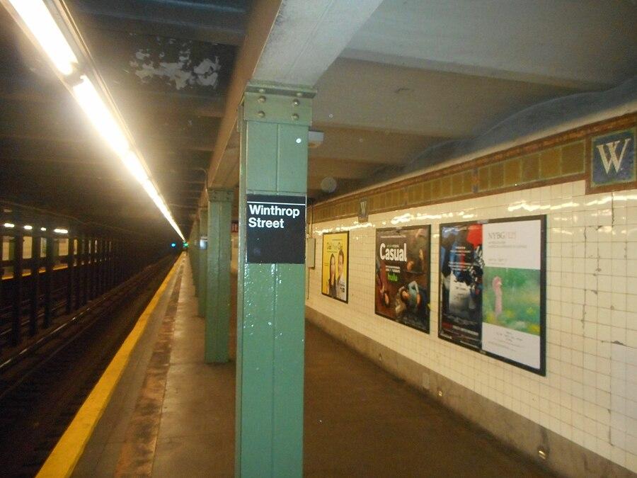 Winthrop Street station