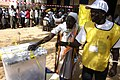 Woman in juba putting here vote in the box - Flickr - Al Jazeera English.jpg