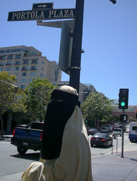 File:Woman wearing Niqab.JPG