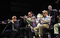 Woody Allen y su orquesta.