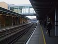 Woolwich Arsenal stn mainline look east.JPG