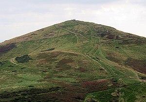 Worcestershire Beacon - Worcestershire Beacon from North Hill