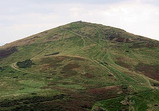 Worcestershire Beacon mountain in United Kingdom