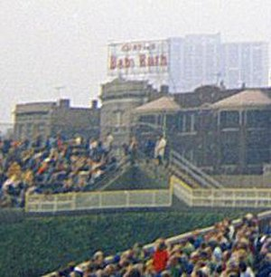Baby Ruth - The Baby Ruth sign at Wrigley Field