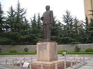 Dong Biwu - Statue of Dong Biwu in Wuhan